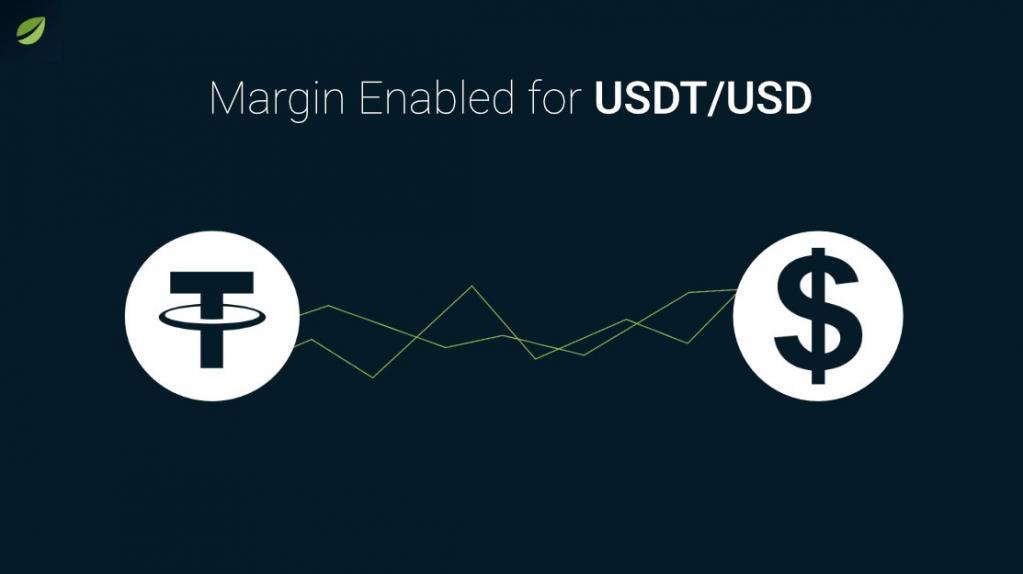 仮想通貨取引所Bitfinexがステーブルコイン「テザー(USDT)」の証拠金取引を導入